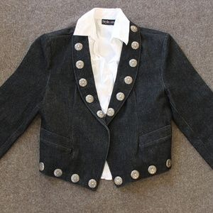 Western Jacket with Conchos